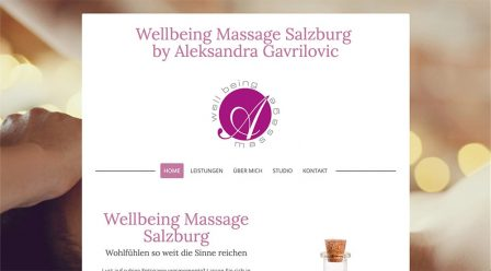 SEO support Wellbeingmassage.at